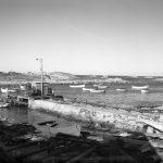 The slipway and jetty, the Gulch, Bicheno, c 1920. Photo courtesy of TAHO.